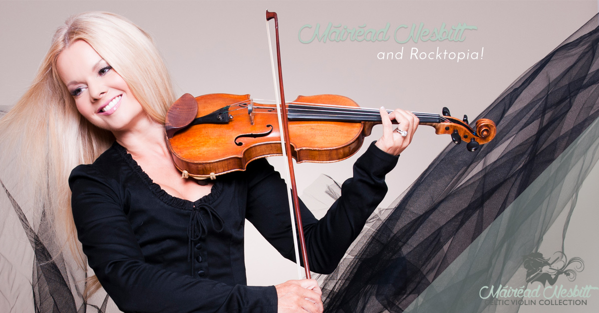Mairead Nesbitt and Rocktopia